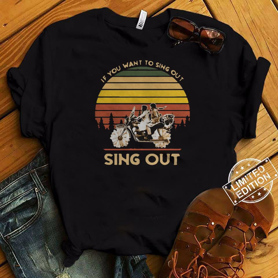 Harold and Maude if you want to sing out sing out sunset shirt