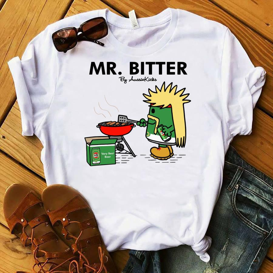 Mr Bitter cooking very best beer shirt
