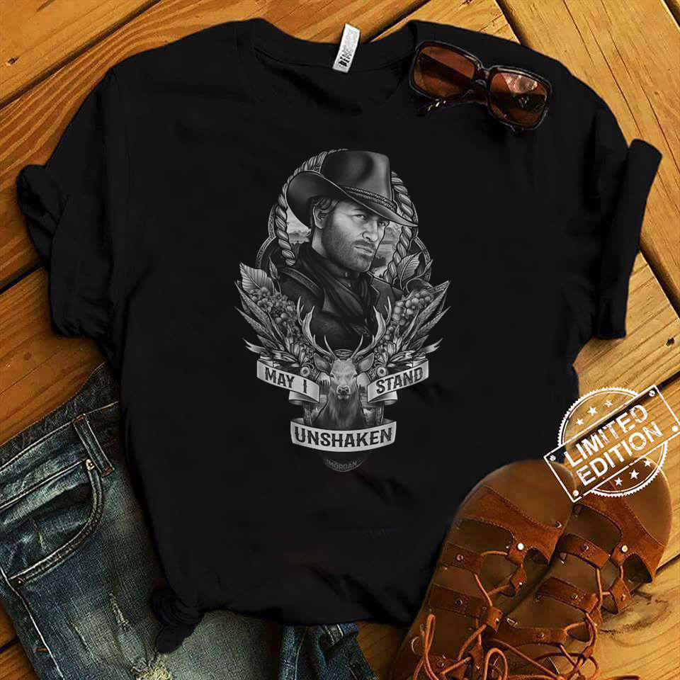 Arthur Morgan may I stand unshaken shirt