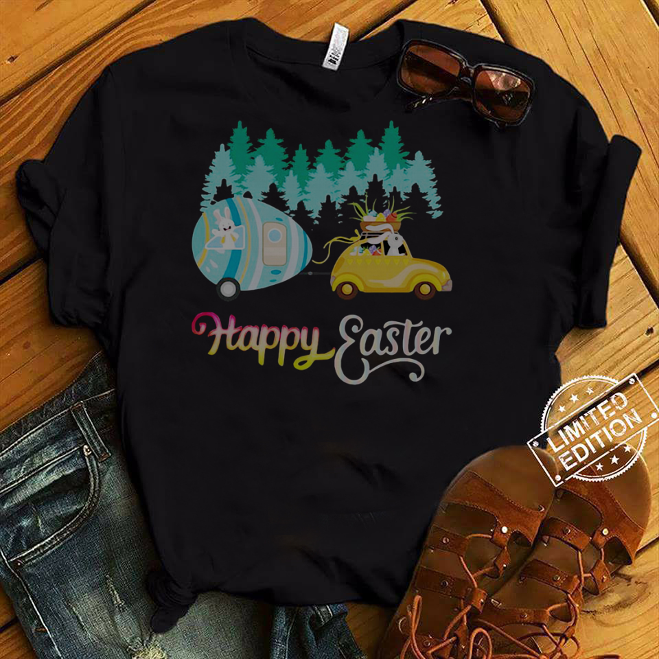 Camping Lover Happy Easter shirt