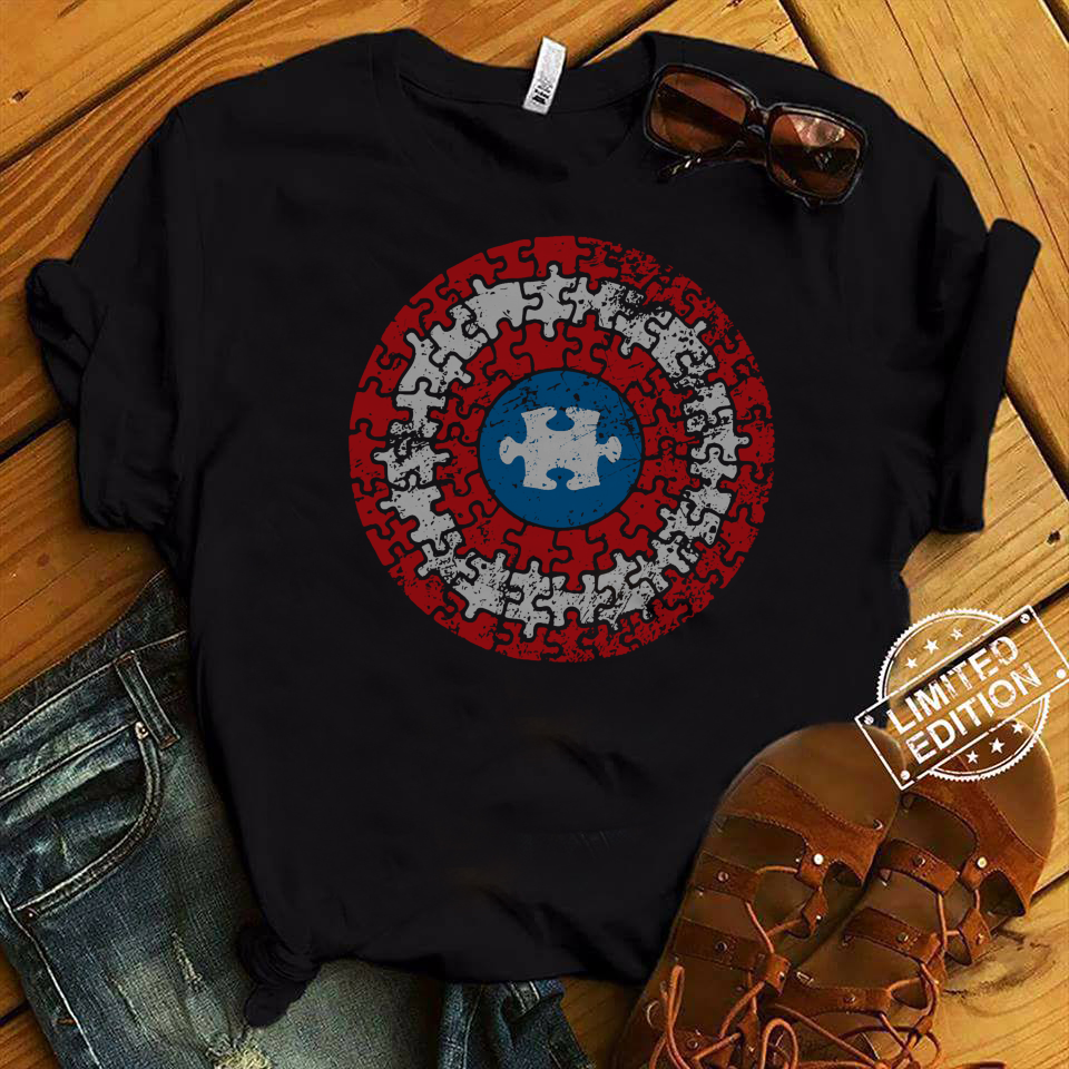 Captain America's Shield Autism shirt