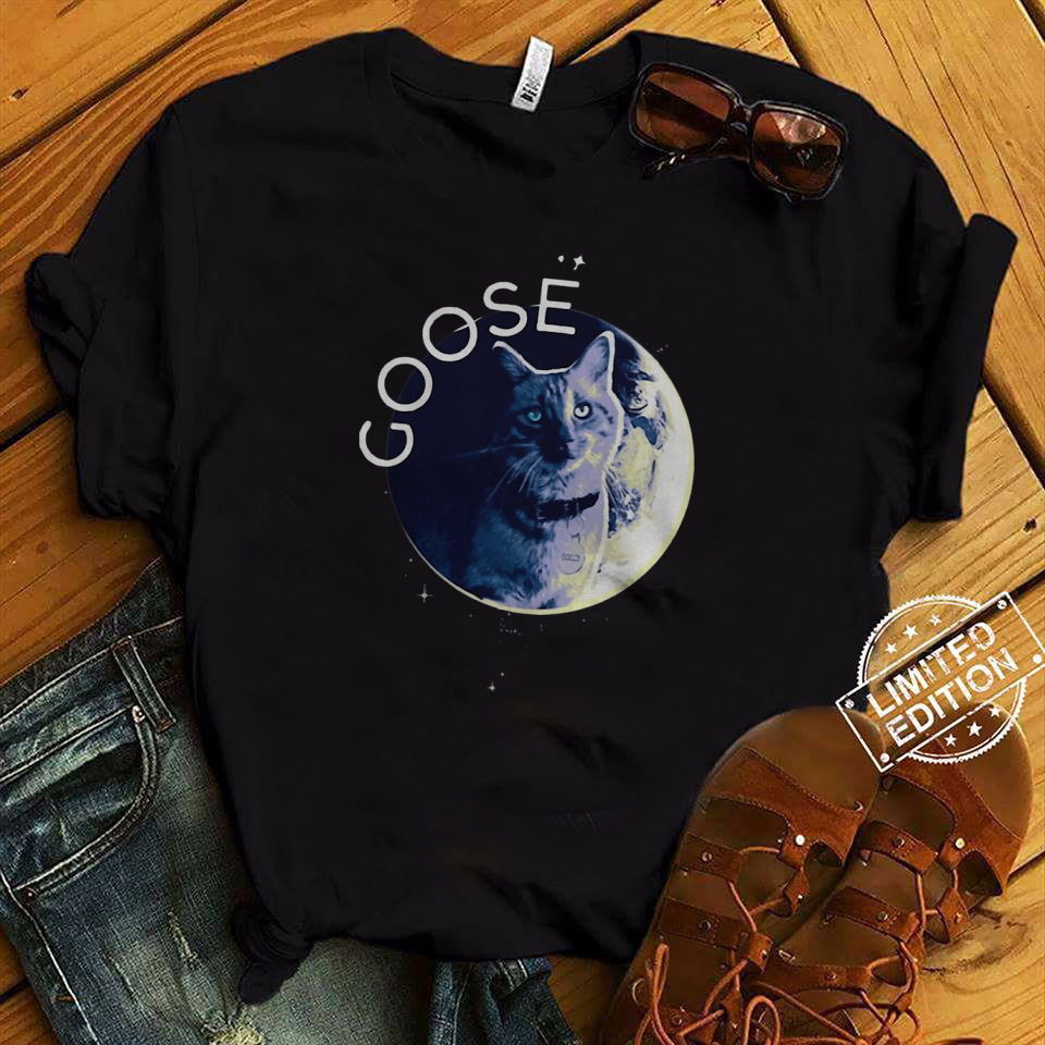 Flerken Goose the Cat in the moon shirt