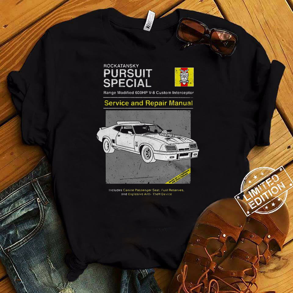 Pursuit Special Service and Repair shirt