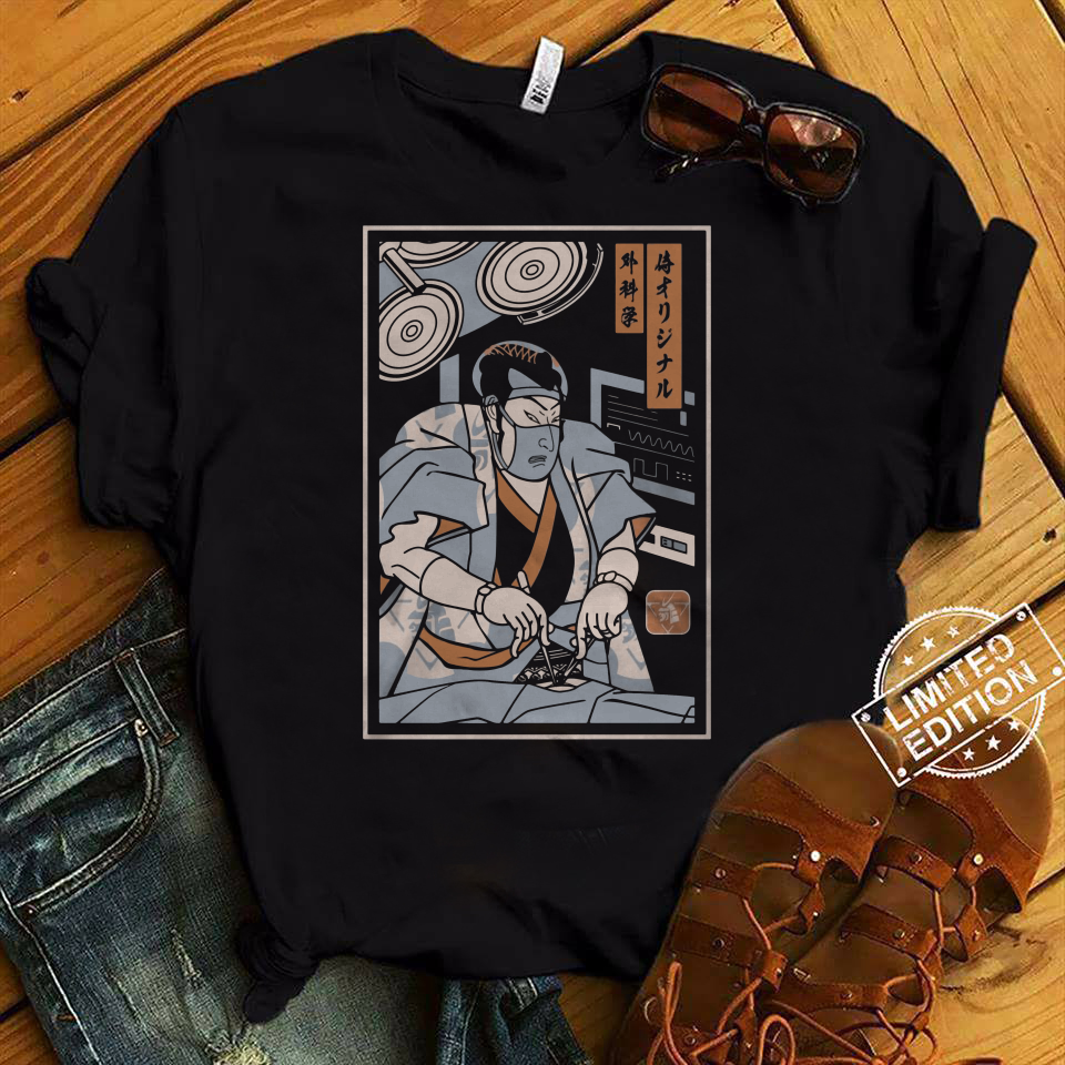 Surgeon Samurai shirt