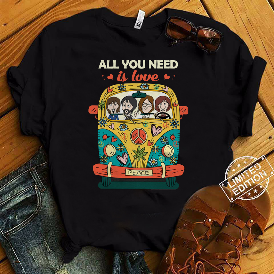 The Beatles all you need is love shirt