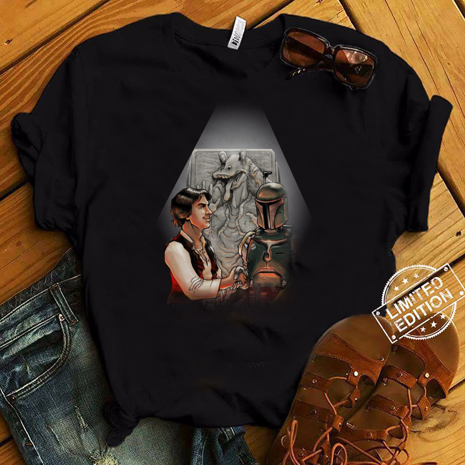 The Star Wars Anthology Han Solo and Boba Fett shirt