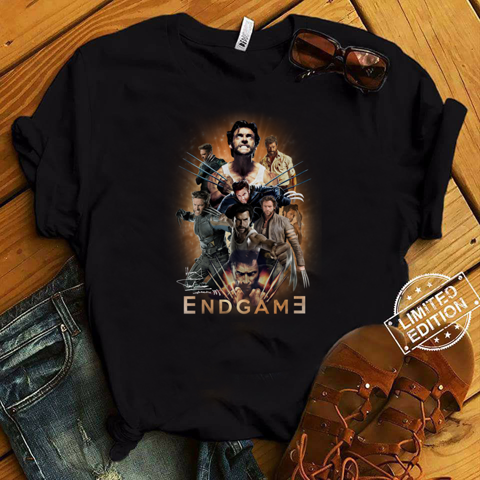 X-Men Origins Wolverine Avengers Endgame shirt