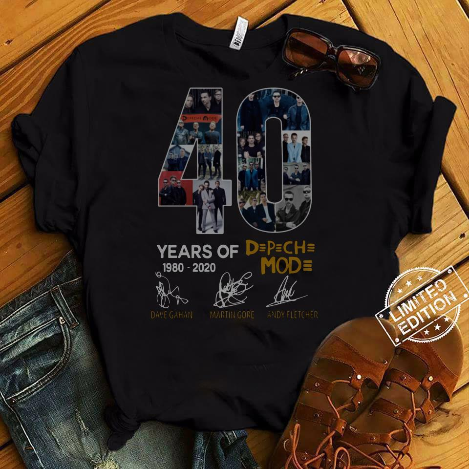 40 Years Of DPCH MOD 1980 2020 Signatures Shirt