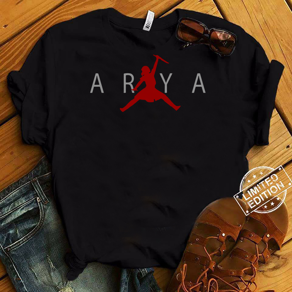 Arya Stark Air shirt