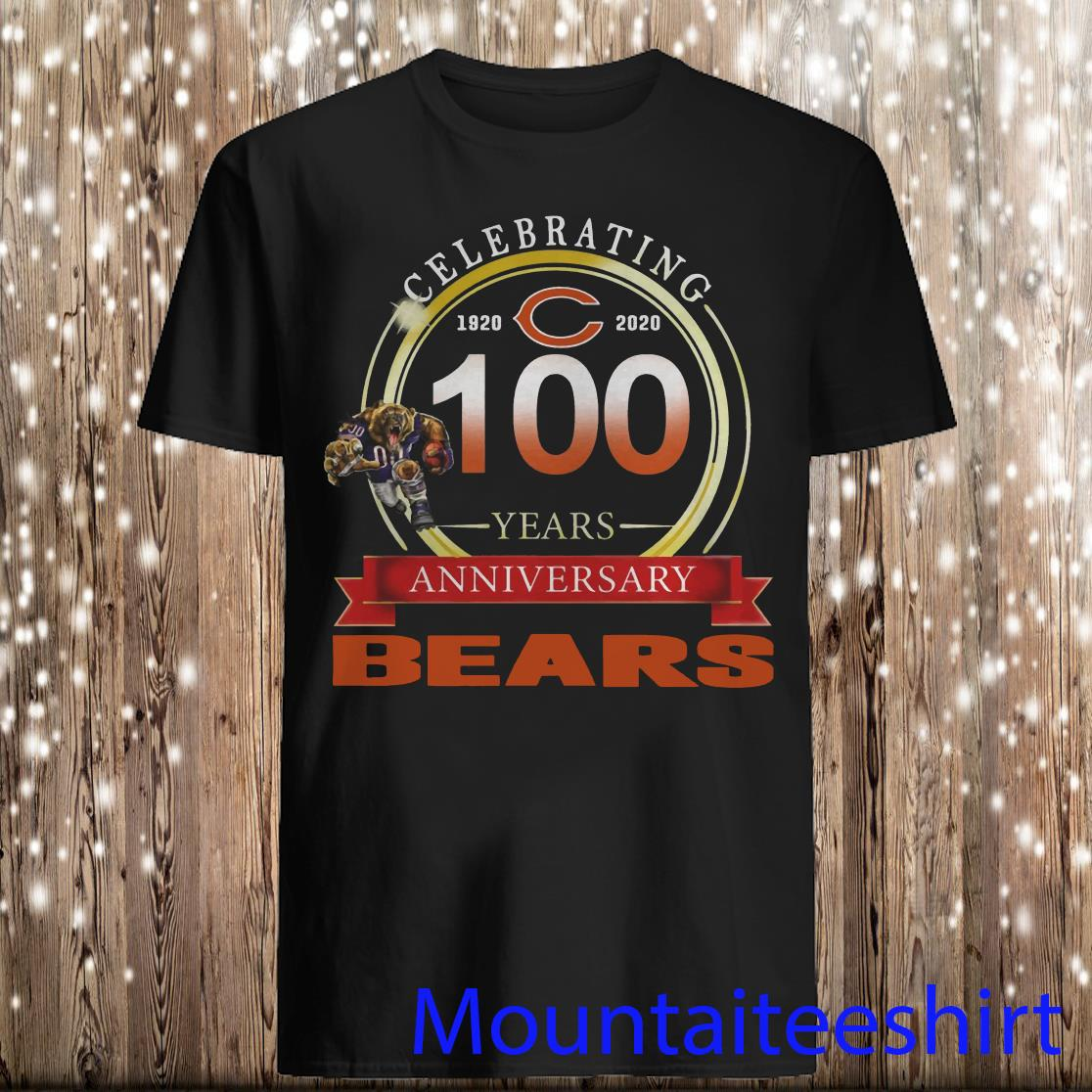 Celebrating 100 Years Anniversary Chicago Bears shirt