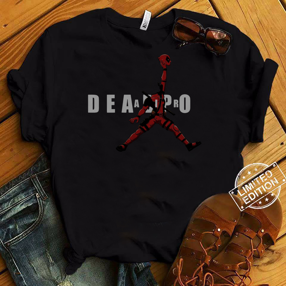 Deadpool Jordan Jumpman Air shirt