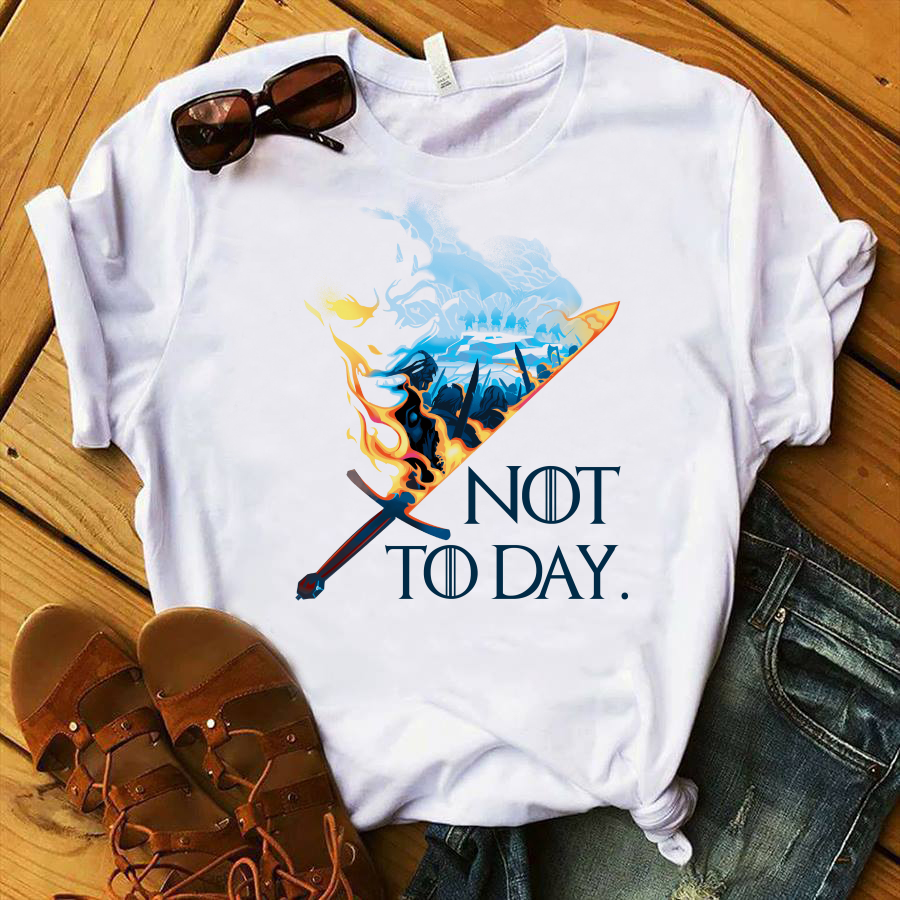 Game Of Thrones Sword not today shirt
