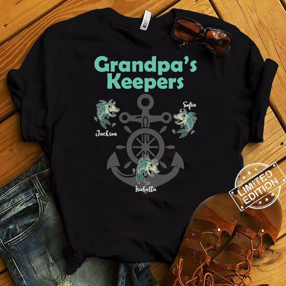 Grandpa's keepers jackson sofia kabella shirt