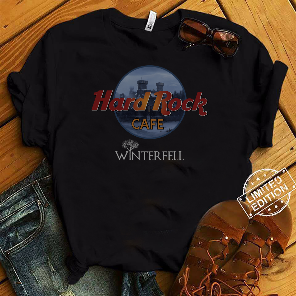 Hard Rock Cafe Winterfell shirt