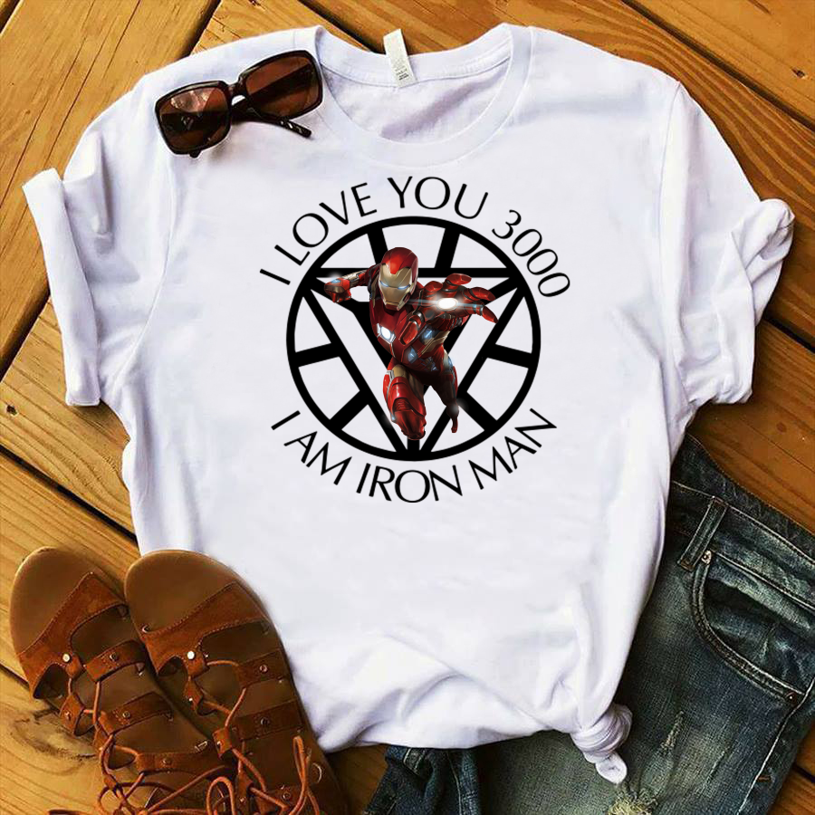 I Am Iron Man I Love You 3000 shirt