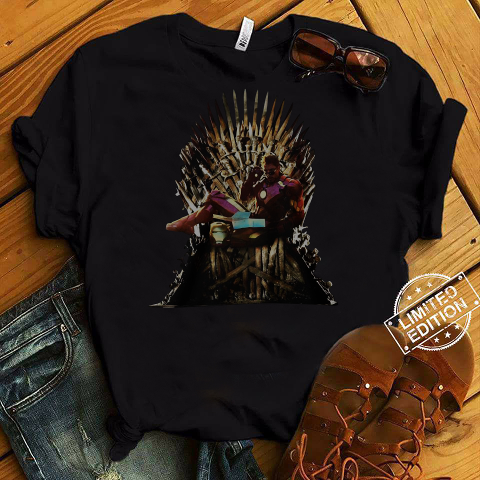 Iron Man Game Of Thrones Reading Book shirt