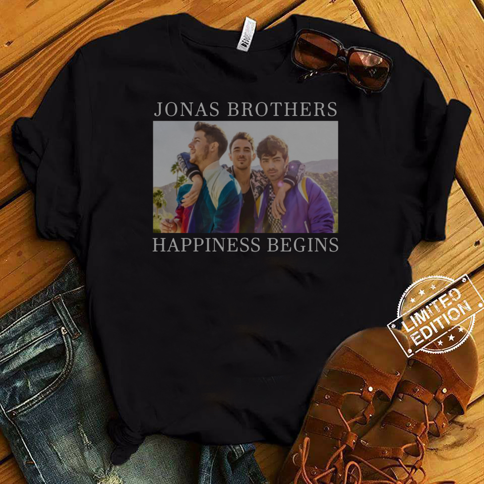 Jonas Brothers Happiness Begins Shirt