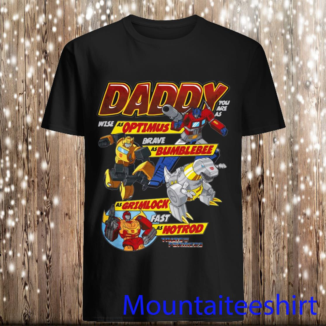 Autobots Father's Day Transformers Shirt