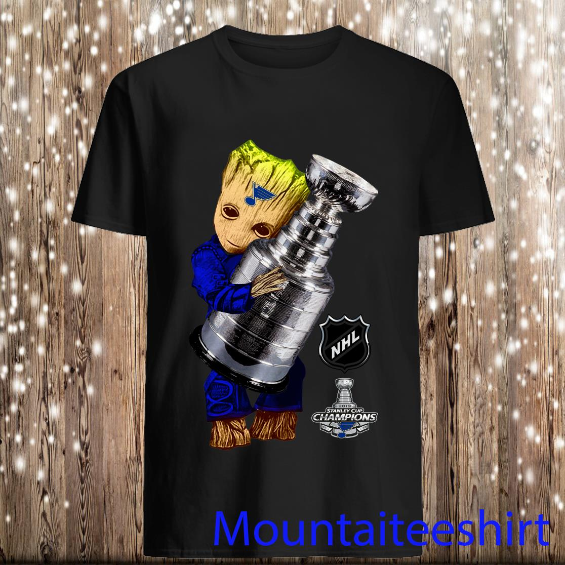 Baby Grood St. Louis Blues 2019 Stanley cup Champions tshirt