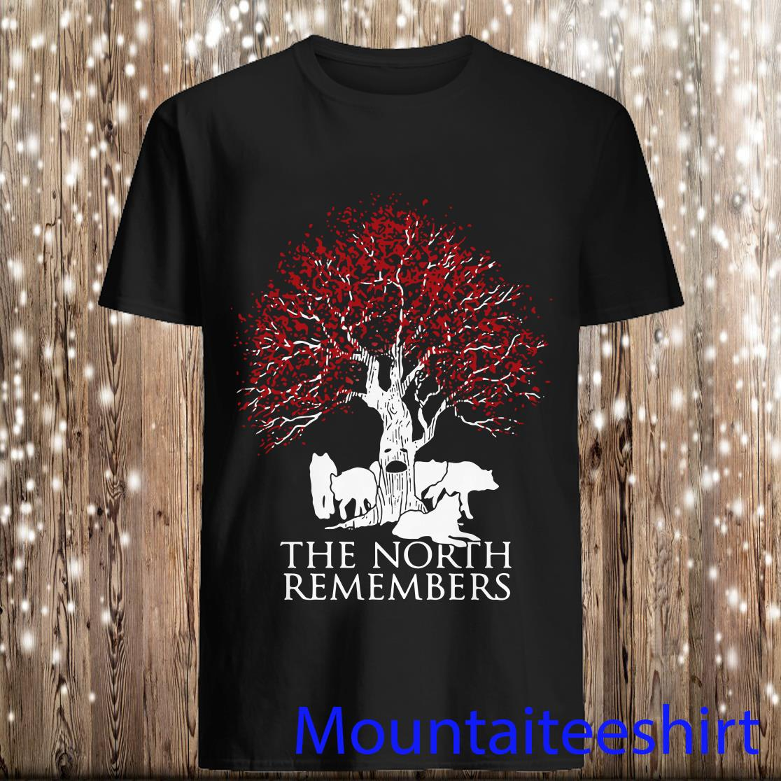 Game of Thrones Jon Snow The North Remembers Shirt