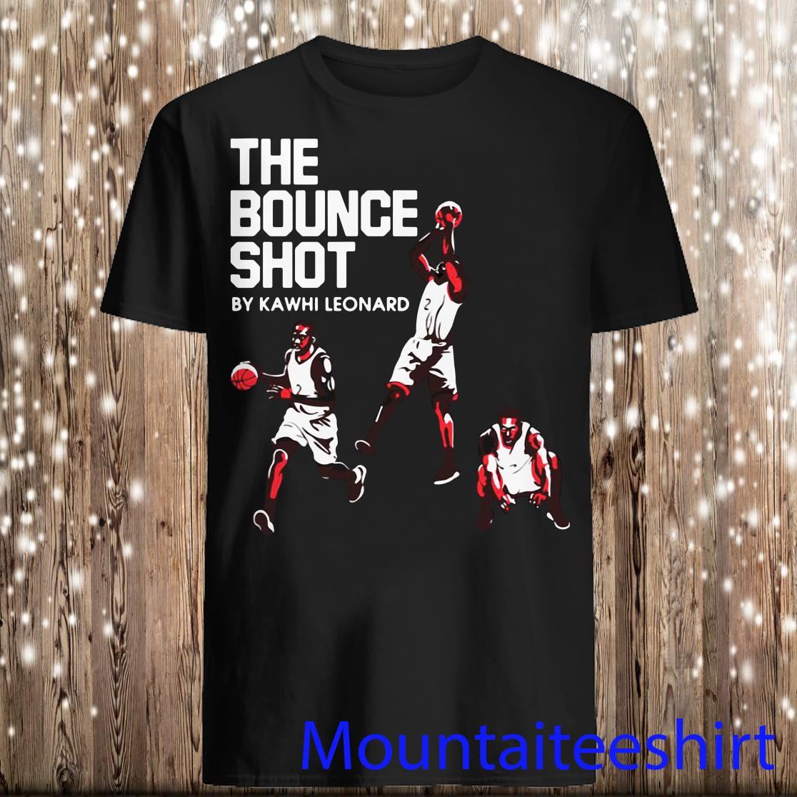 Kawhi Leonard The Bounce Shot Shirt