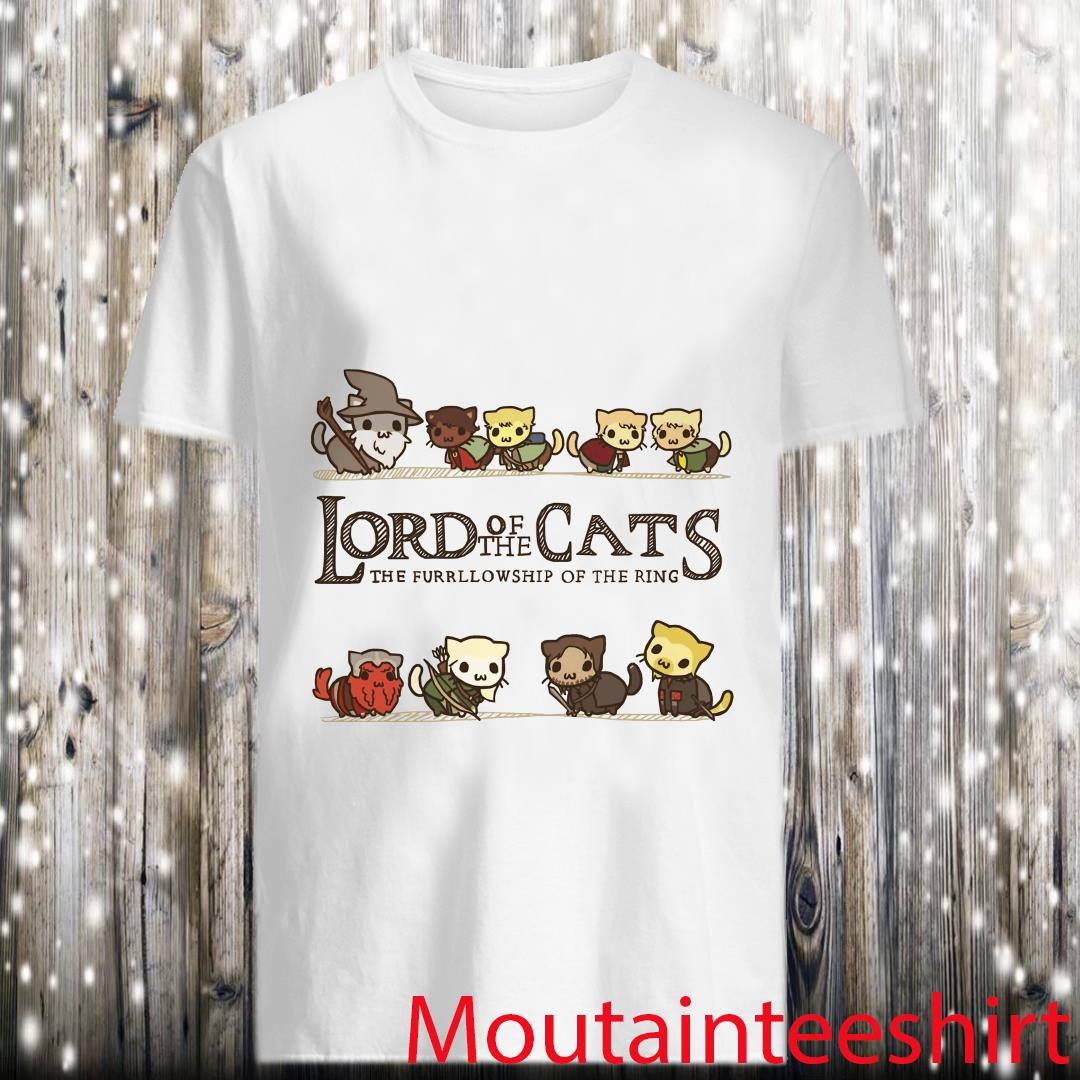 Lord of The Cats Cat Lord of The Rings Shirt