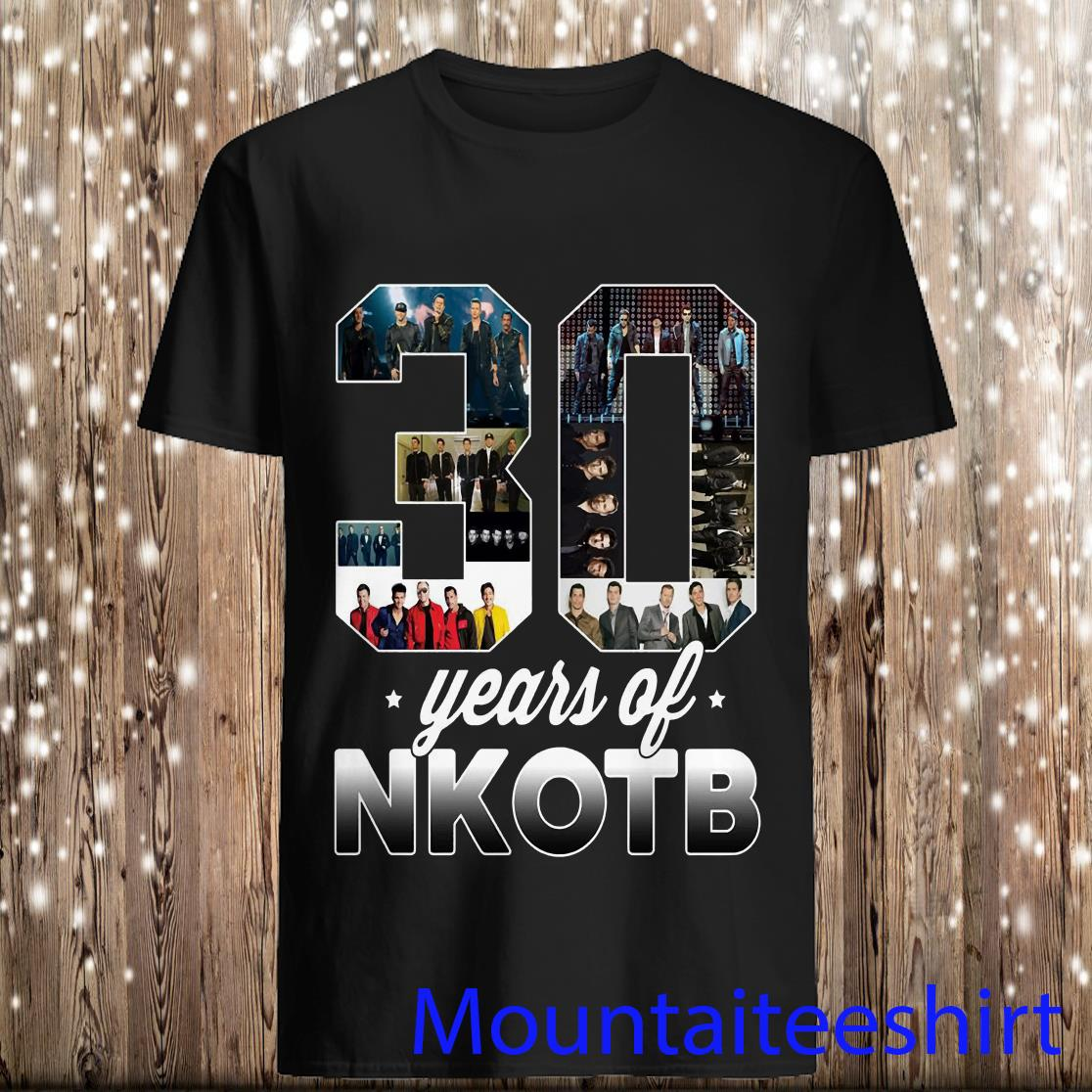 Lovely 30 Years Of Nkotb Shirt