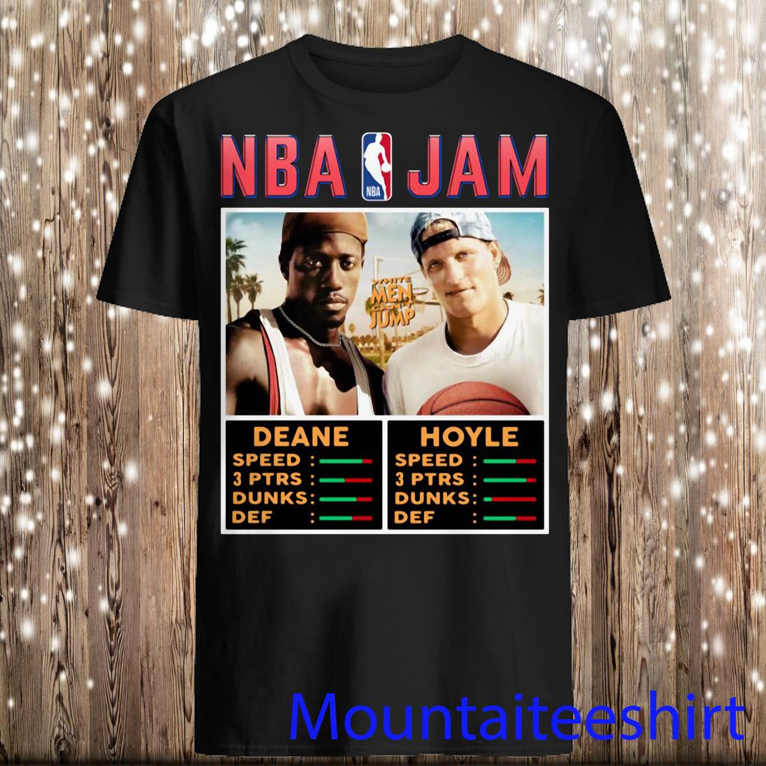 NBA Jam White Men Can't Jump Shirt