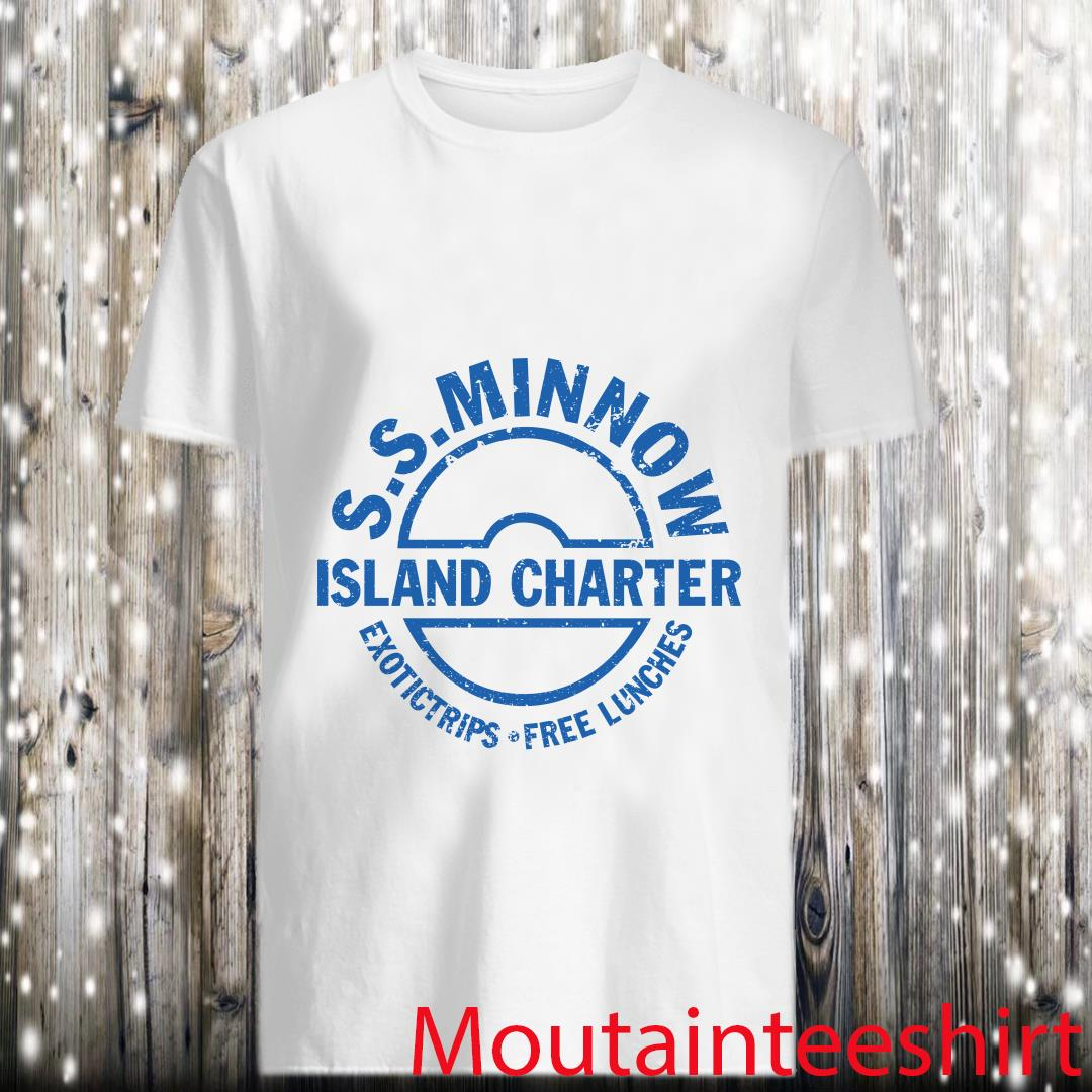 SS Minnow Island Charter Exotictrips Free Lunches Shirt