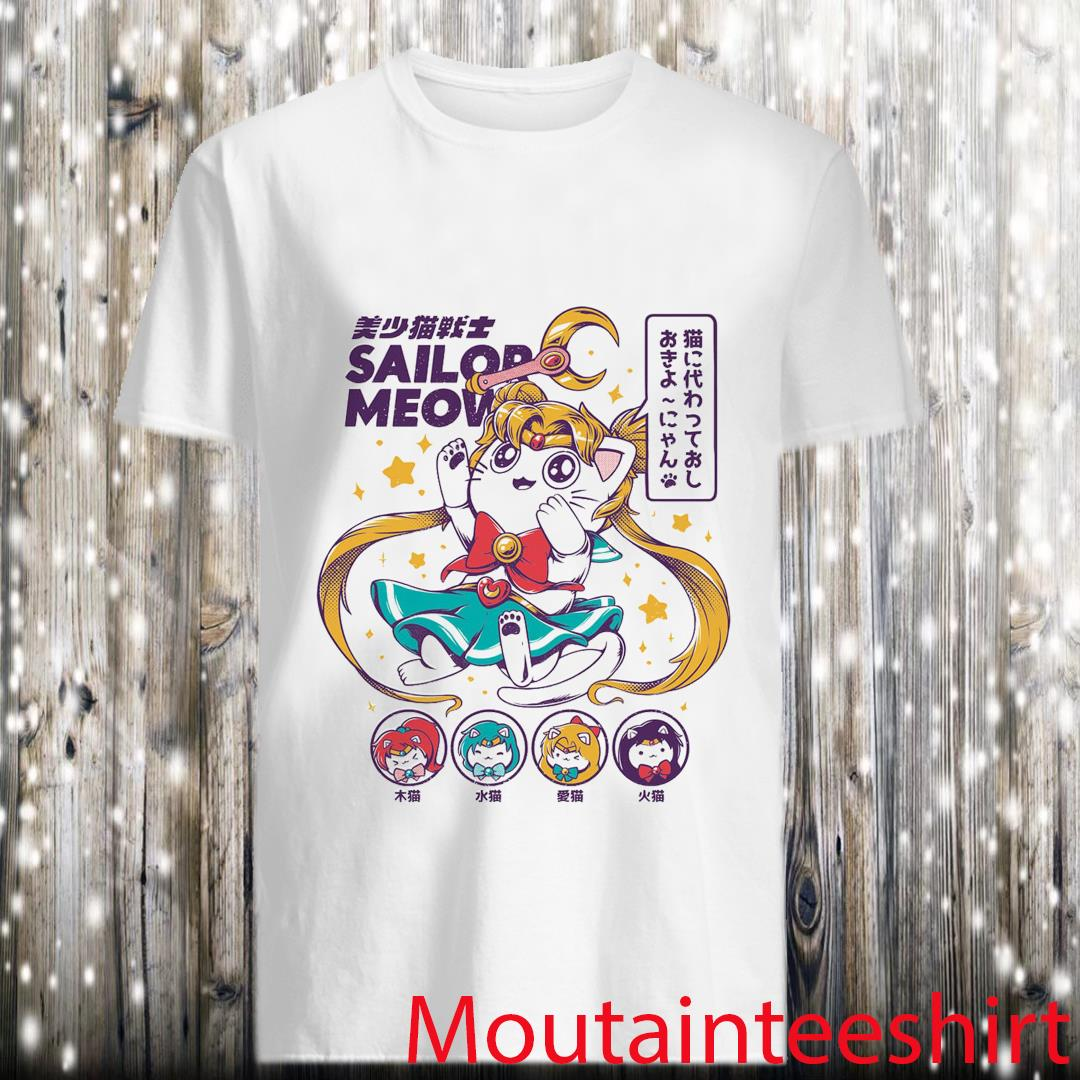 Sailor Meow Anime Shirt