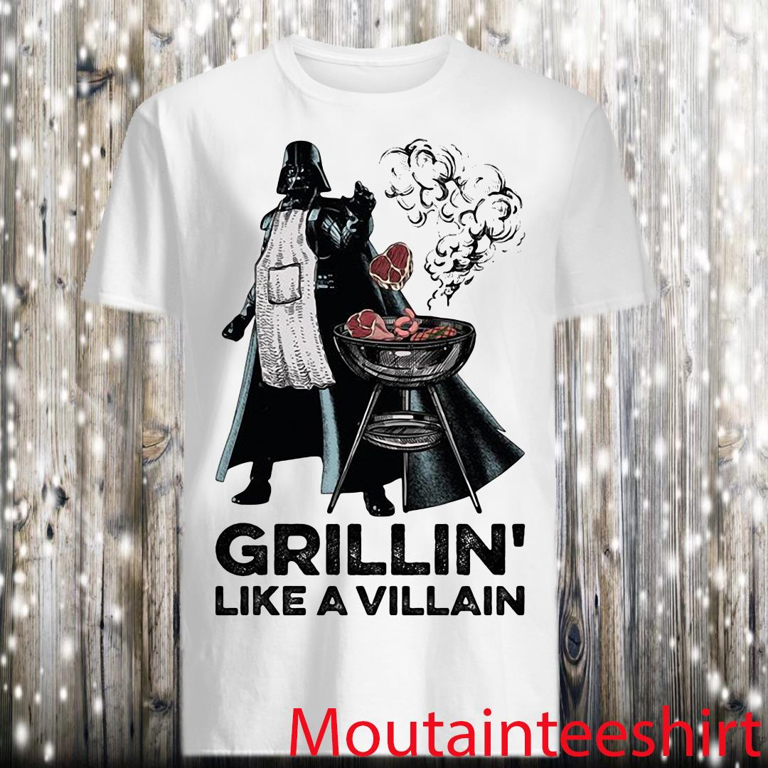 Star Wars Grillin' Like A Villain Shirt