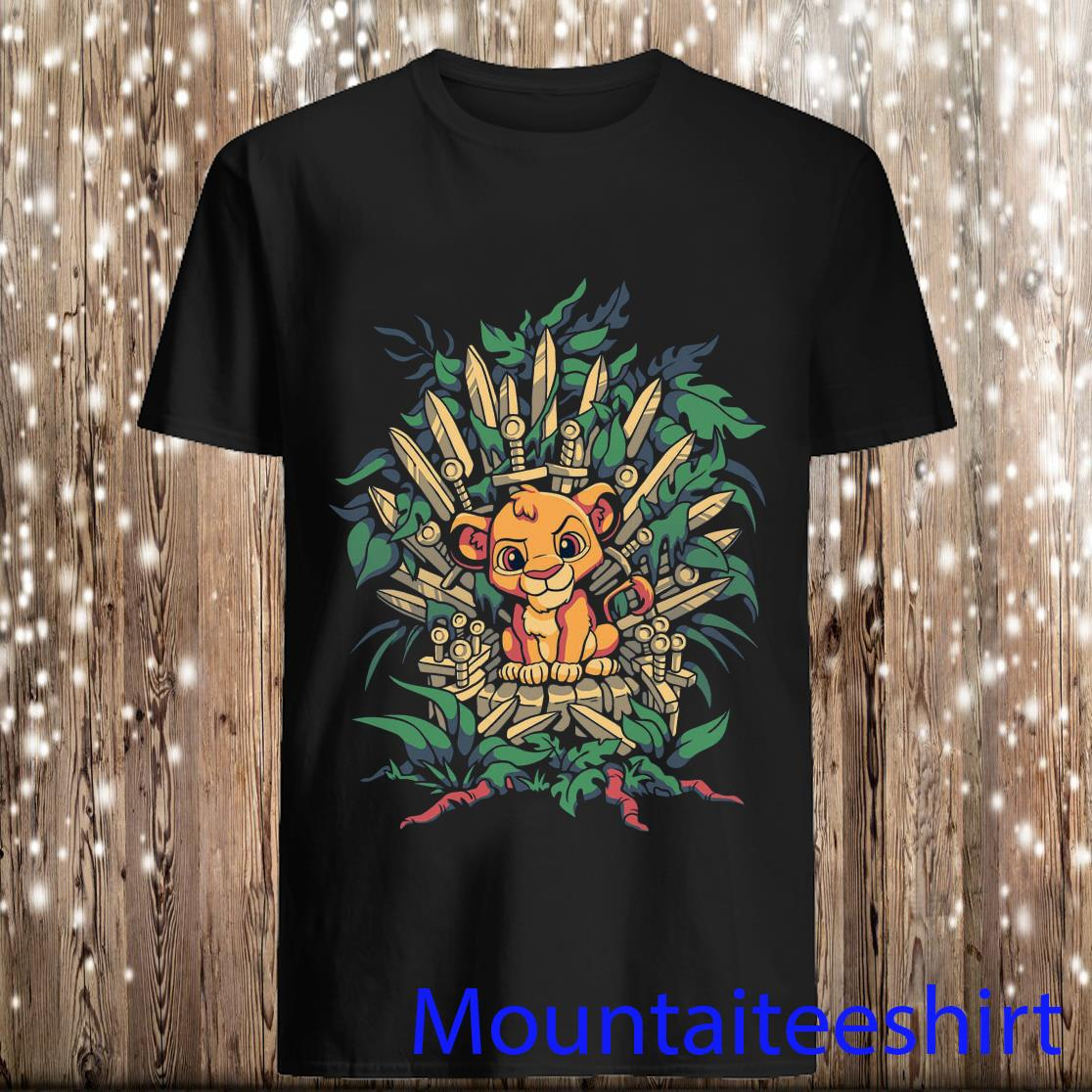The Lion King Simba Game of Thrones Shirt