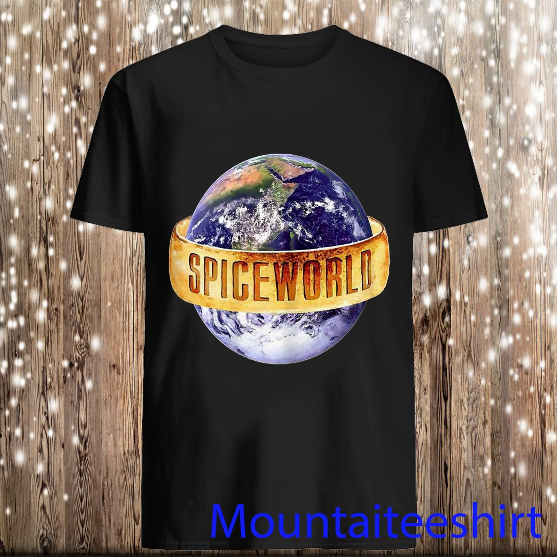 Trends Funny Earth Spiceworld Spice Girls Premium Shirt