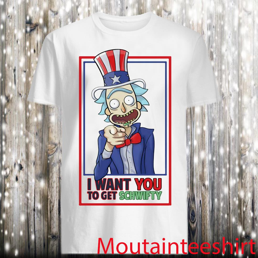 Uncle Rick I Want You To Get Schwifty Shirt