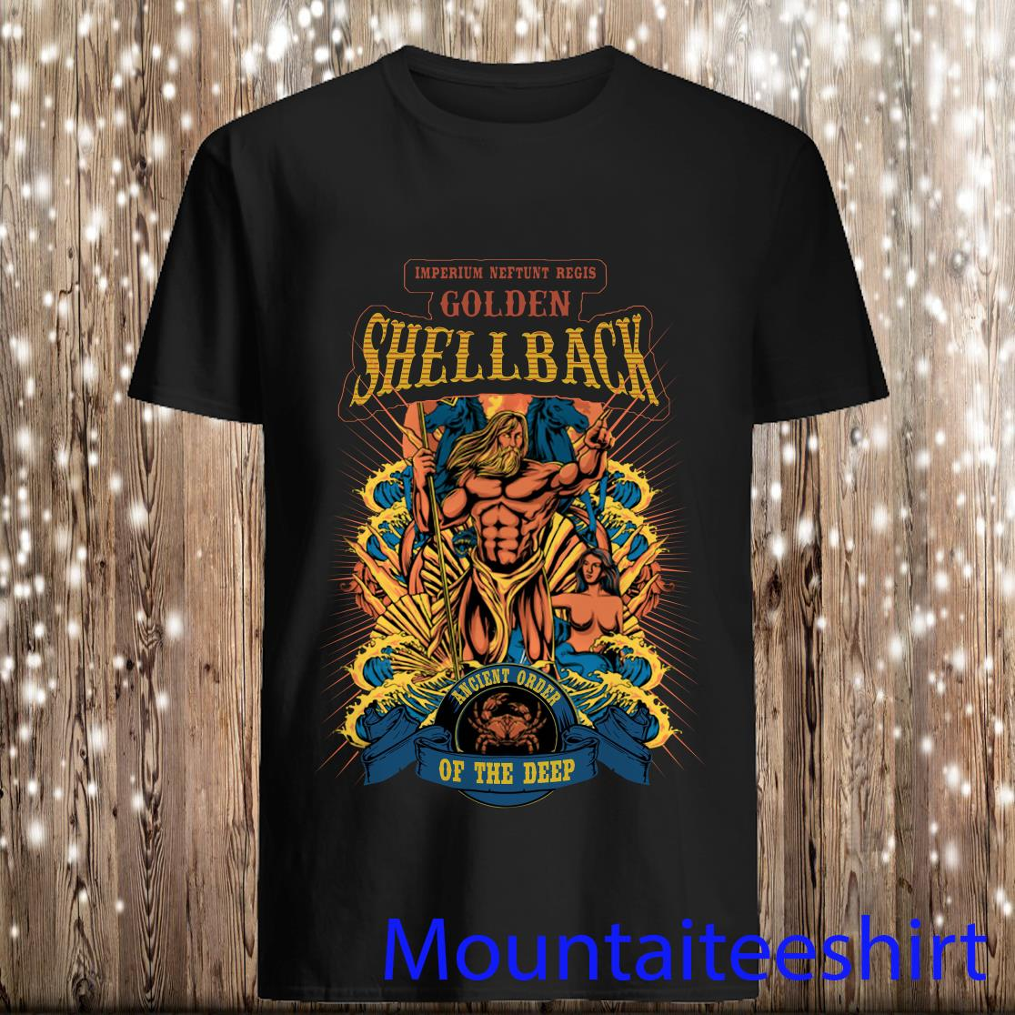 Imperium Neptunt Regis Golden Shellback Ancient Order Of The Deep Shirt