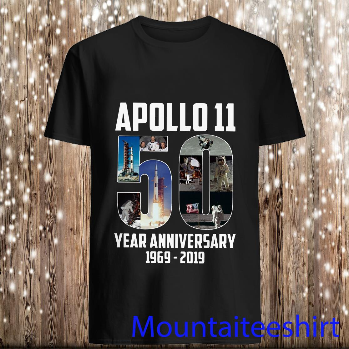 Apollo 11 50th Year Anniversary 1969-2019 Shirt