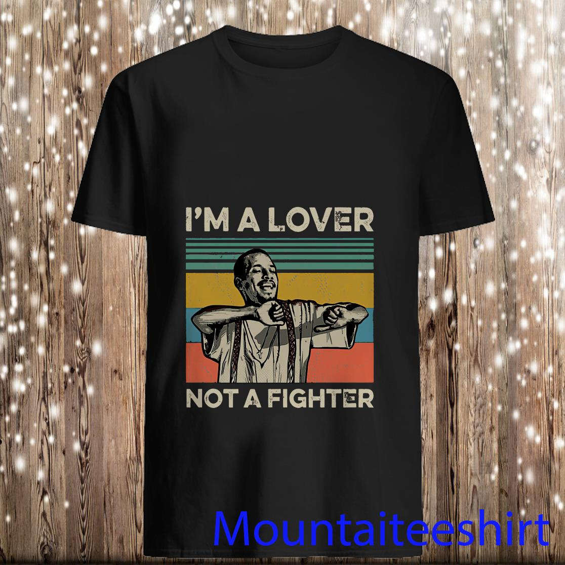 Blood in Blood Out Cruzito I'm A Lover Not A Fighter Vintage Sunset Shirt