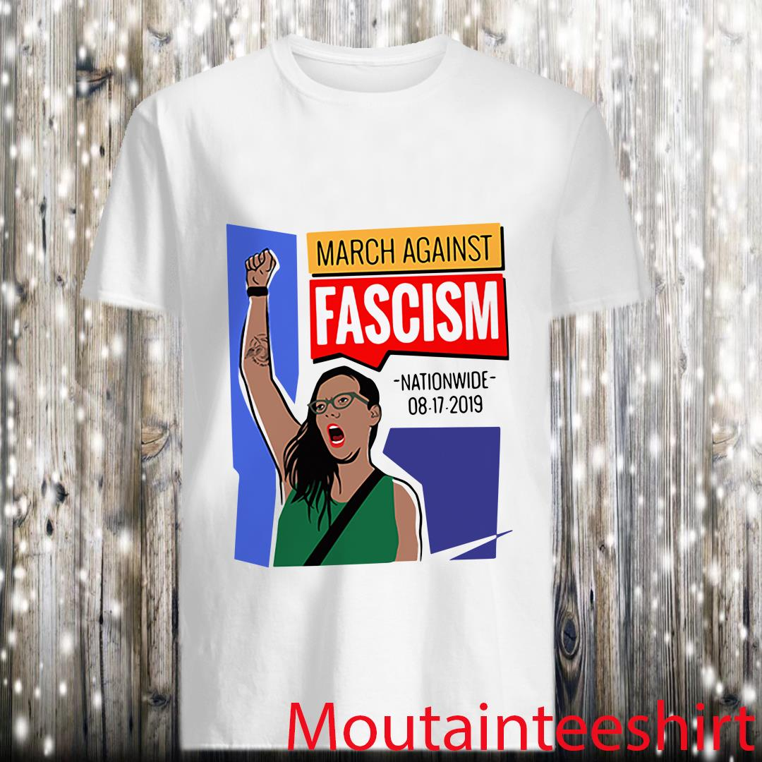 March Against Fascism Nationwide 2019 With Pride Shirt