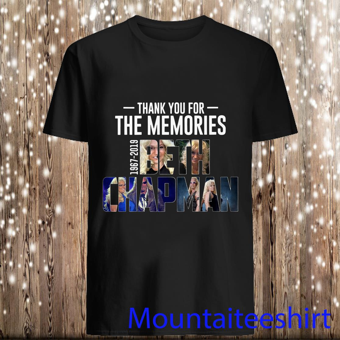 MimiStore Live Thank You for The Memories 1967-2019 Beth Chapman American Bounty Hunter Fans Shirt