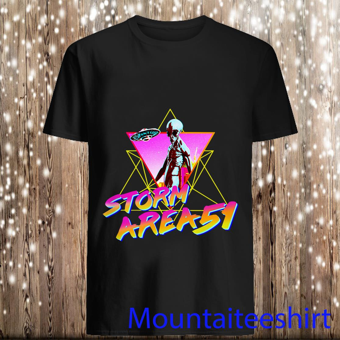 Storm Area 51 Aesthetic Shirt