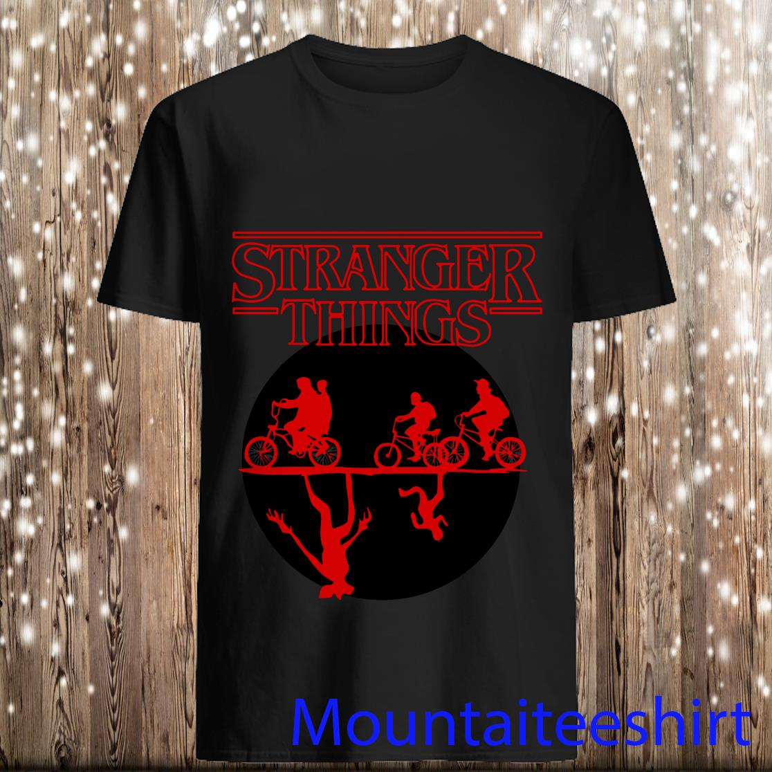 Stranger Things Bike Rides Shirt
