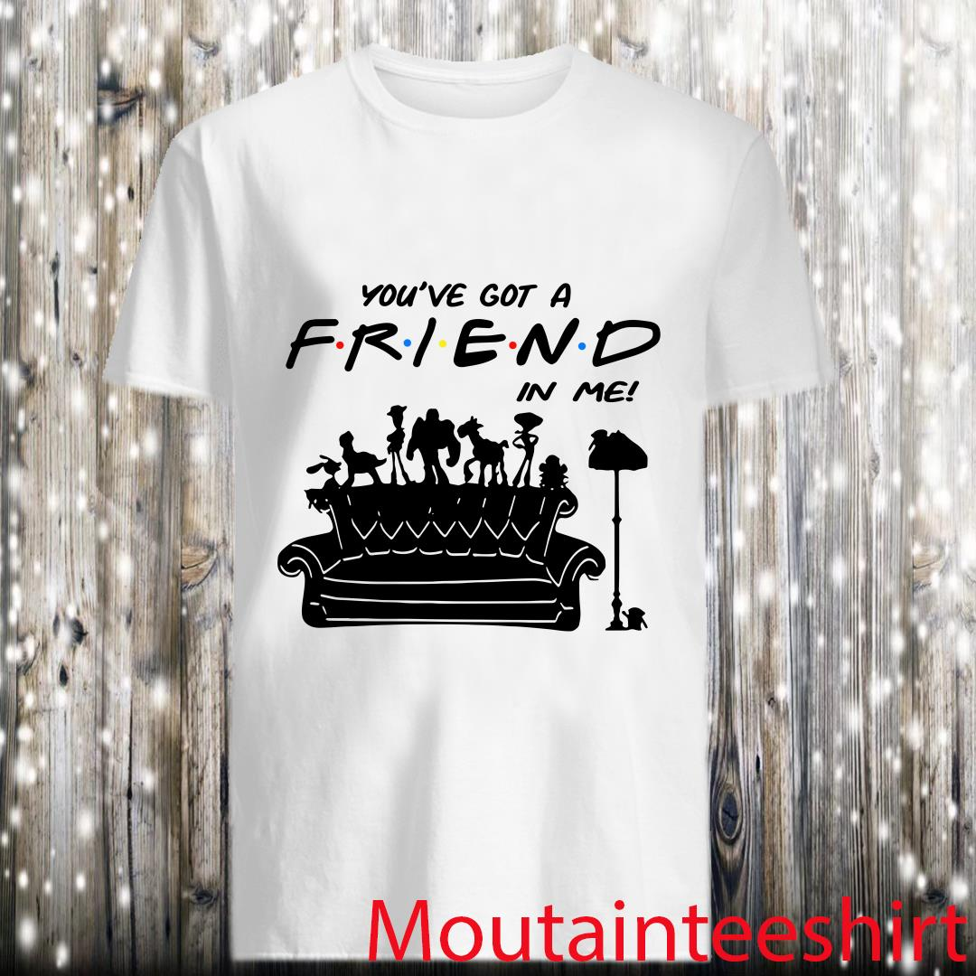 Toy Story Group Of Friends You've Got A Friend in Me Shirt
