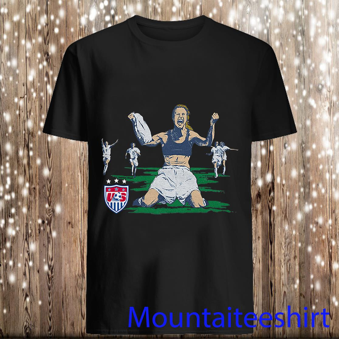 USWNT Brandi Chastain Goal from Homage Shirt