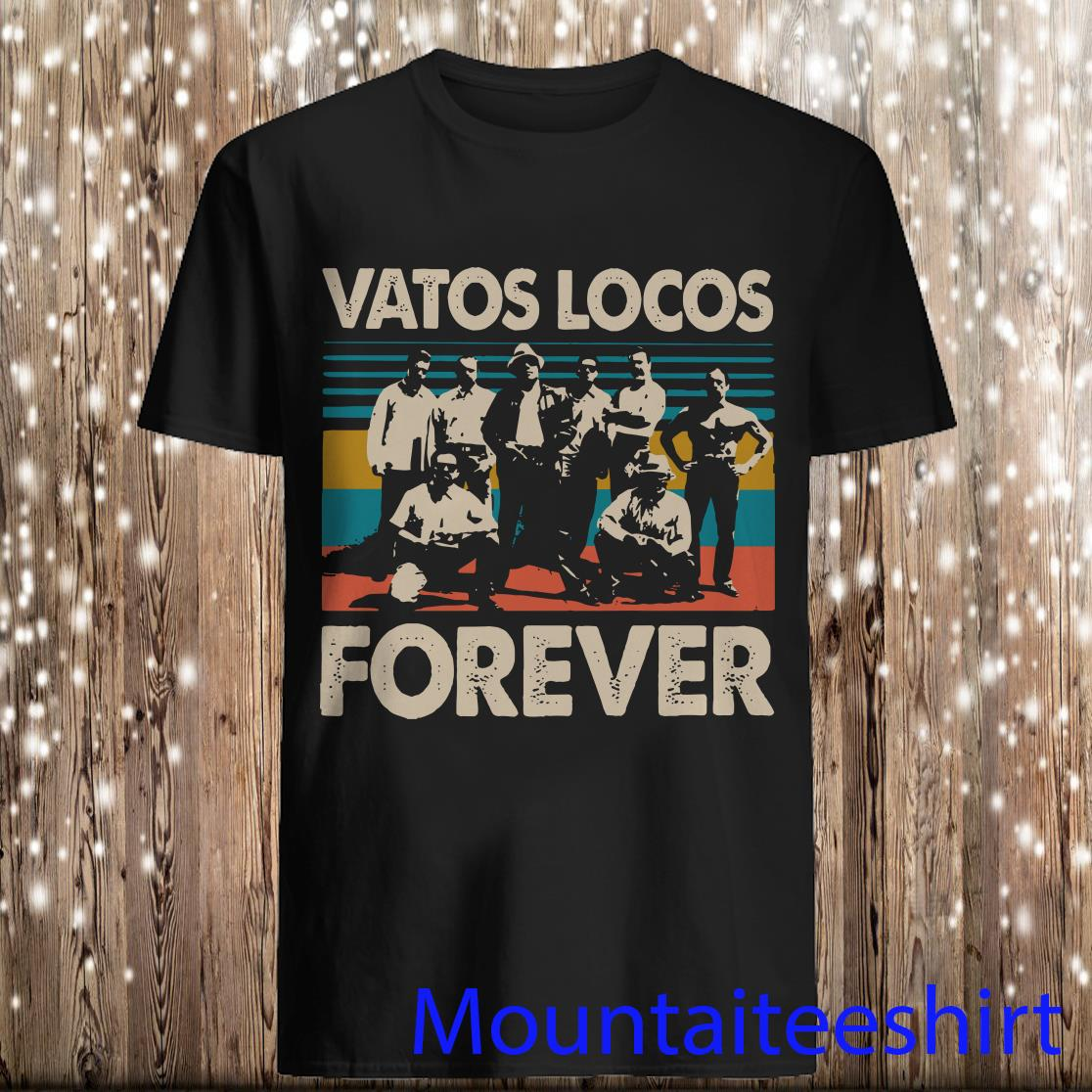 Vatos Locos Forever Vintage Sunset Shirt