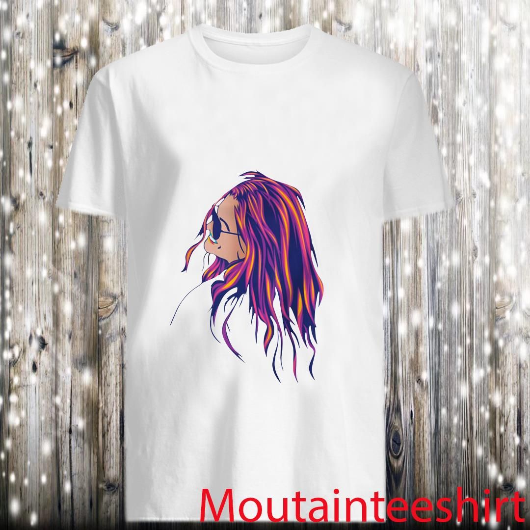 Beautiful Hippie Soul Girl Loving Life Peace And Freedom Shirt