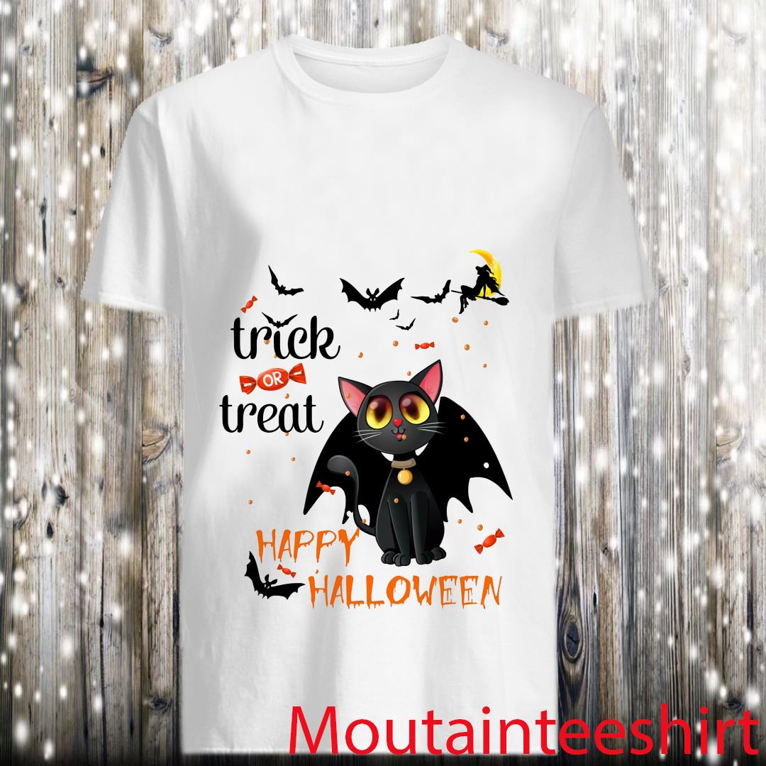 Bengal Cat Trick Or Treat Happy Halloween Shirt