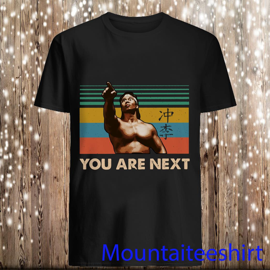Bloodsport Chong Li You Are Next Vintage Shirt