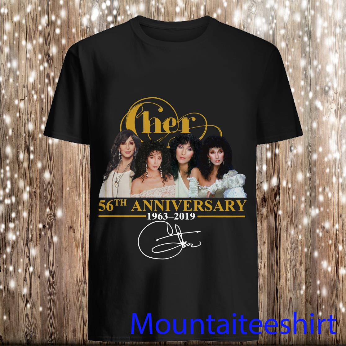 Cher 56th Anniversary 1963 2019 Signature Shirt