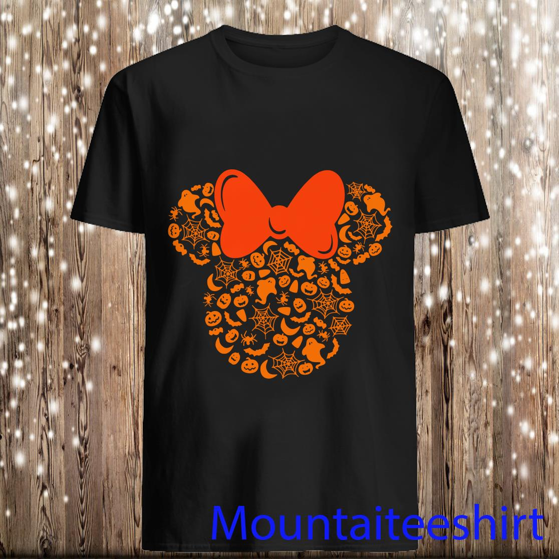 Disney Minnie Mouse Halloween Silhouette Icon Shirt