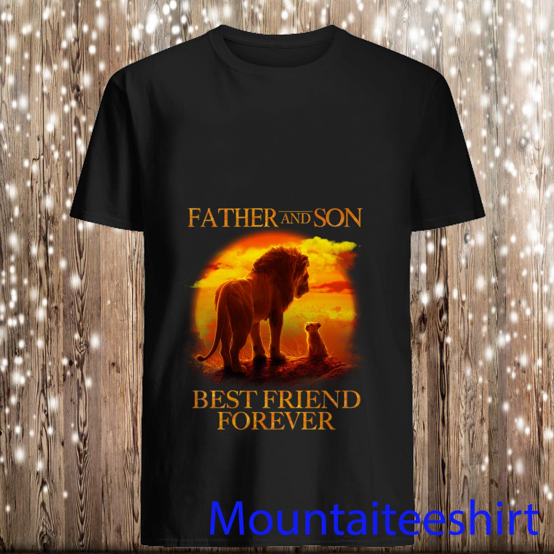 Father And Son Best Friends Forever Shirt